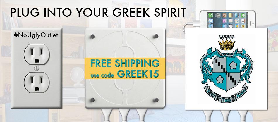 LivingPlug Greek Life Charging Station | Sororities | Zeta Tau Alpha